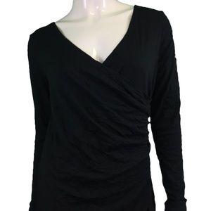 NWT Chalet Black Wrap Dress